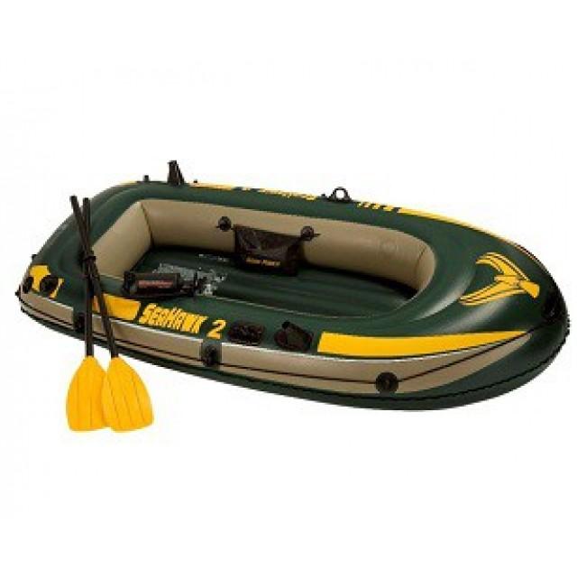 Надуваема лодка, двуместна, 236х114х41см, 68347NP