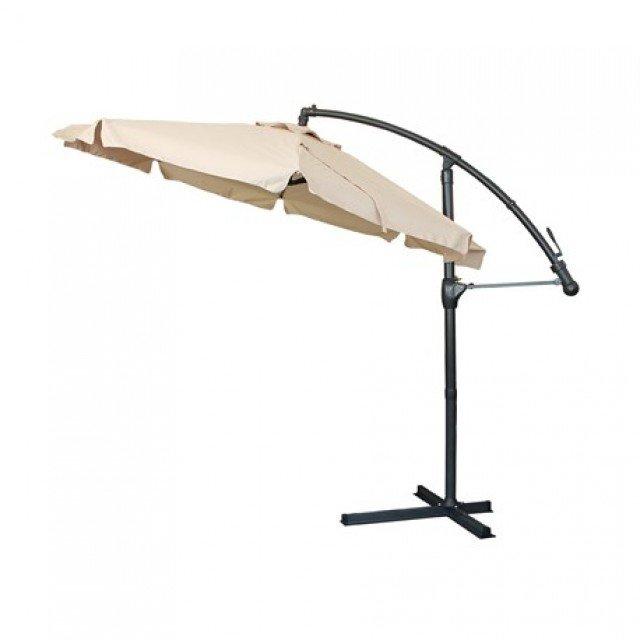 "Чадър градински тип ""Лале"", метална стойка и механизъм, диам. 3 метра"